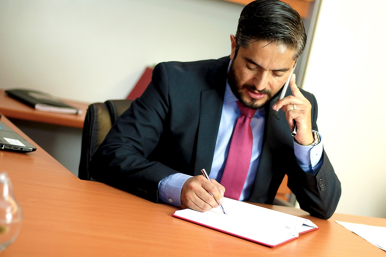 accident lawyer at work